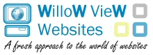 Website registration, hosting, design and development by Willow View Websites
